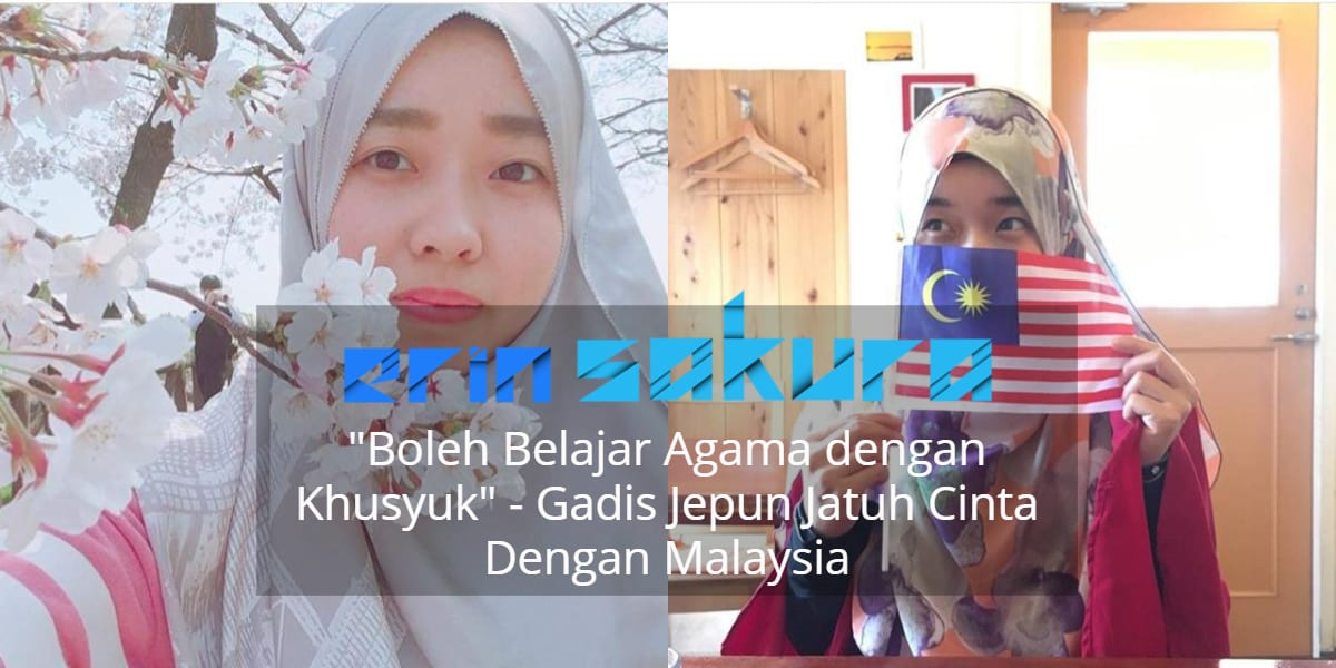 """""""Senang Solat On Time.."""" – Gadis Jepun Ini Pilih Menetap Di Malaysia Demi IsIam"""