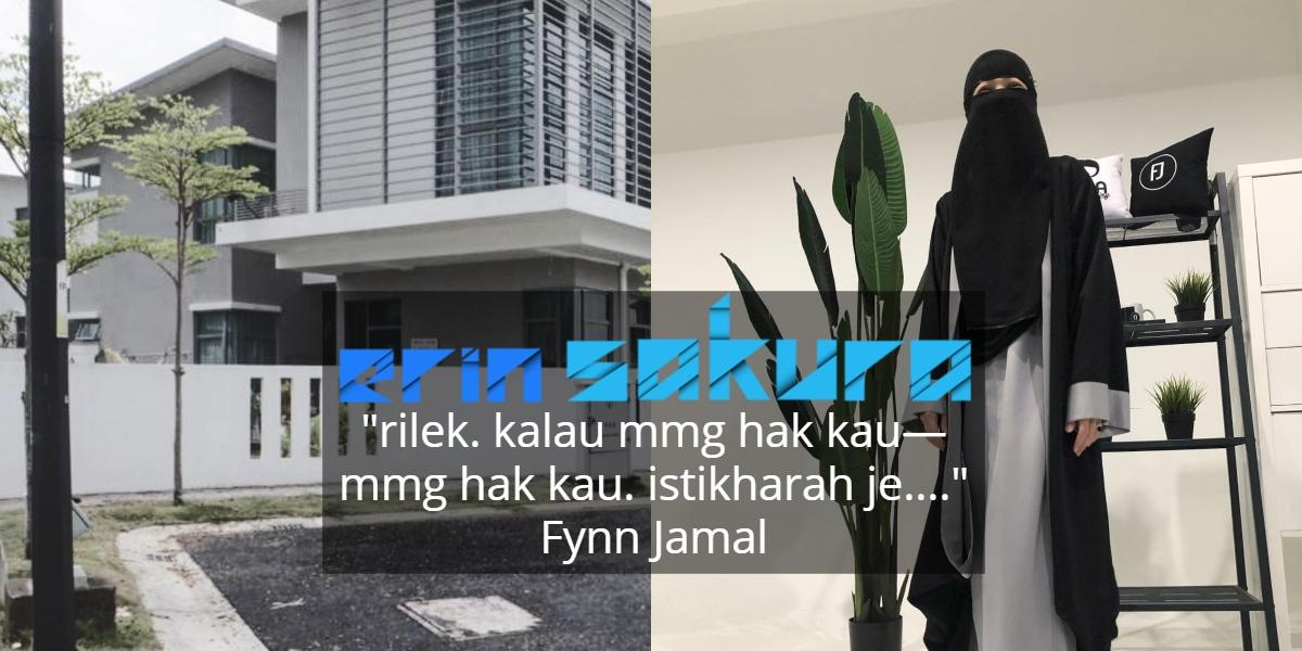 Jimat Bayar Bulanan Rumah, Fynn Jamal Kongsi Pengalaman Beli Rumah Lelong