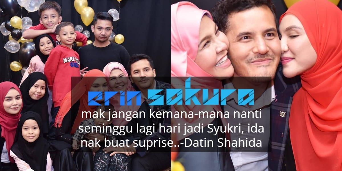 [VIDEO] Sekitar Majlis Hari Jadi, Dato' Aliff Syukri Menangis Teruja!