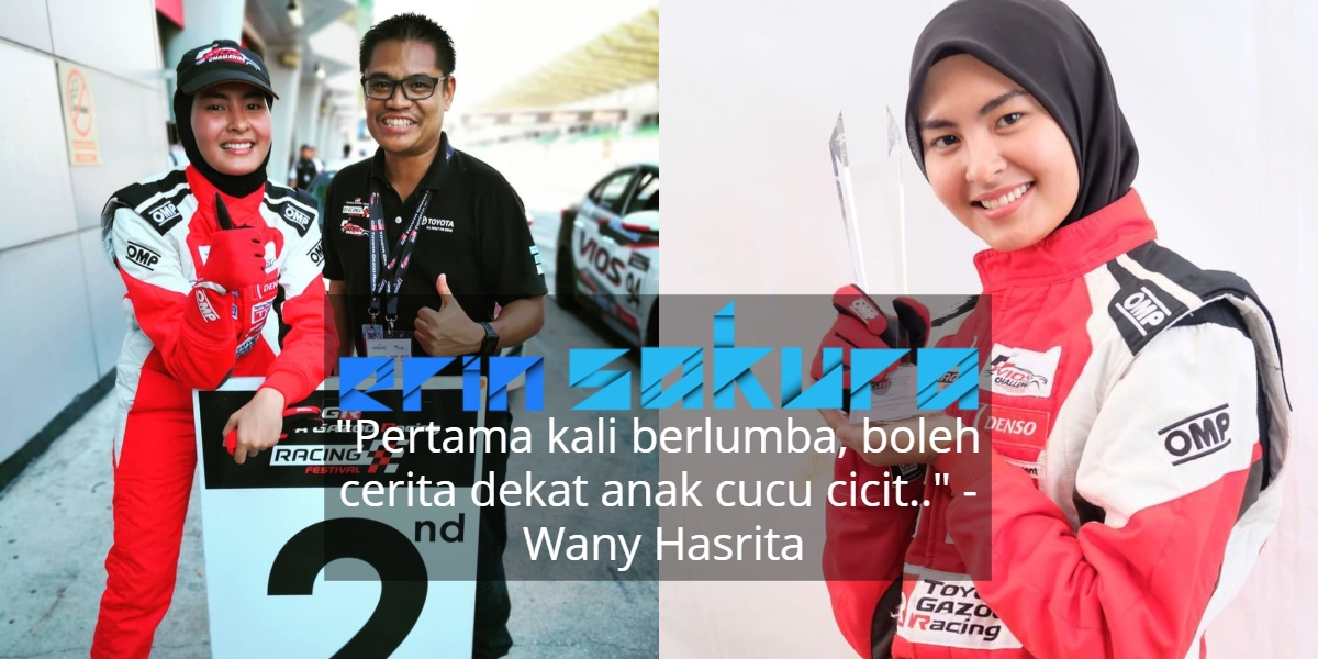 """Another Race Queen, Jangan Ingat Awek Sopan Takleh Racing"" -Coach Wany"