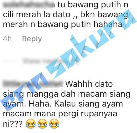 """""""Siang Mangga Macam Siang Ayam"""" – Dato' Aliff Kongsi Resepi Thai, Miang Kham!"""