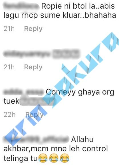Gelagat Lucu Ropie Dan Man Nyanyi Lagu Dato Siti Nurhaliza Buat Ramai Terhibur
