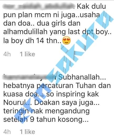 """Semua Yang Kita Nak, Kena Plan"" – Nourul Depp Dedah Rahsia Hamil 'Baby Girl'"
