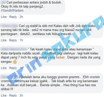 """""""Baru Setahun Jagung"""" – Nak Suami Kenamaan, Nabila Razali Dikecam Netizen"""