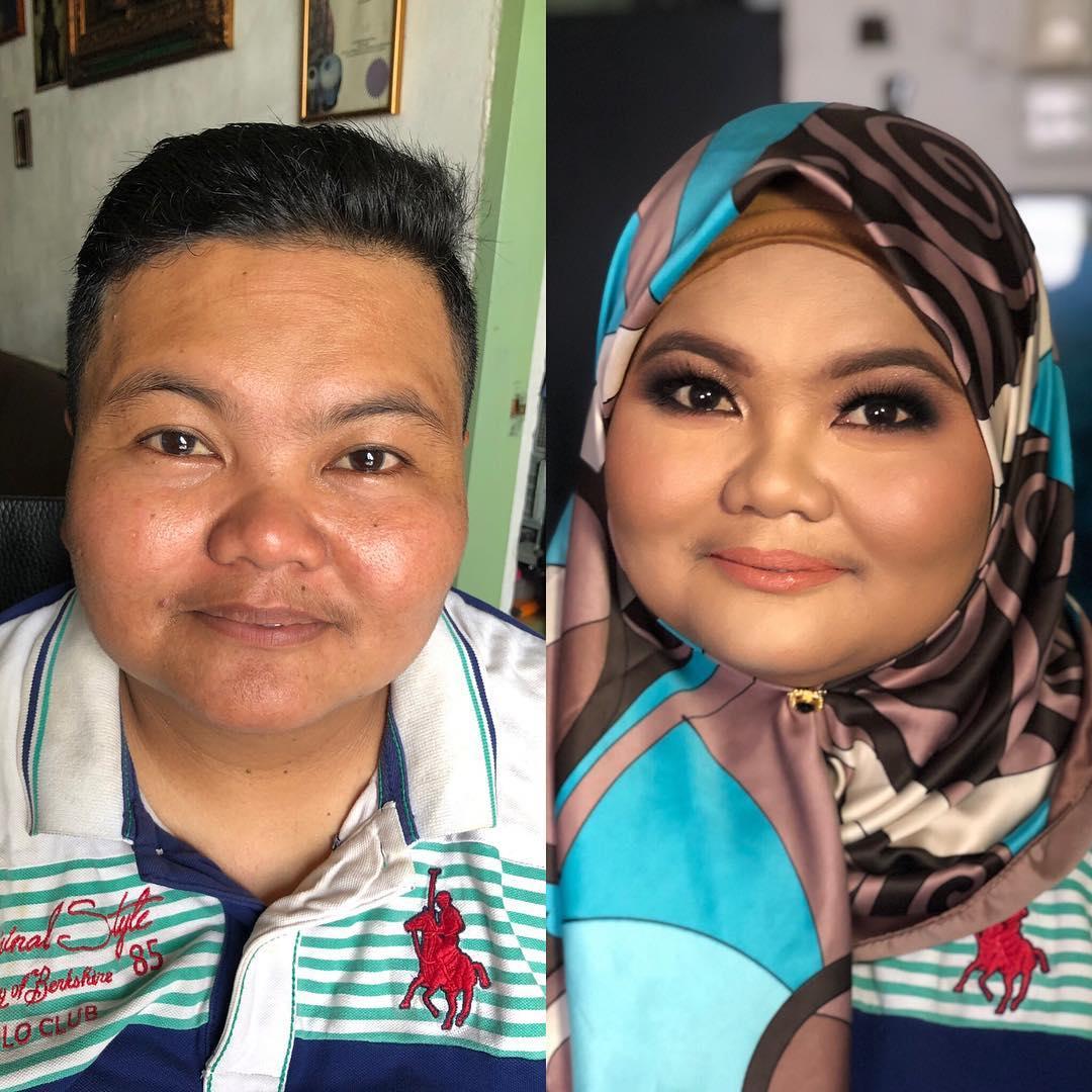 [VIDEO] 'The Power Of Makeup' – Transformasi Wajah T0mb0y Ini Amat Mengagumkan!