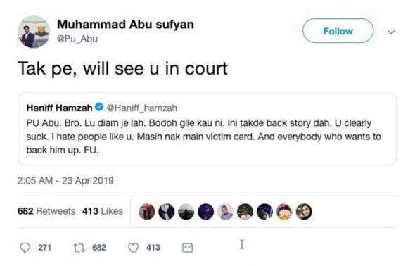 """""""Saya Tak Ada Akaun Media Sosial Selain.."""" – PU Abu Nafi Ada Akaun Twitter"""