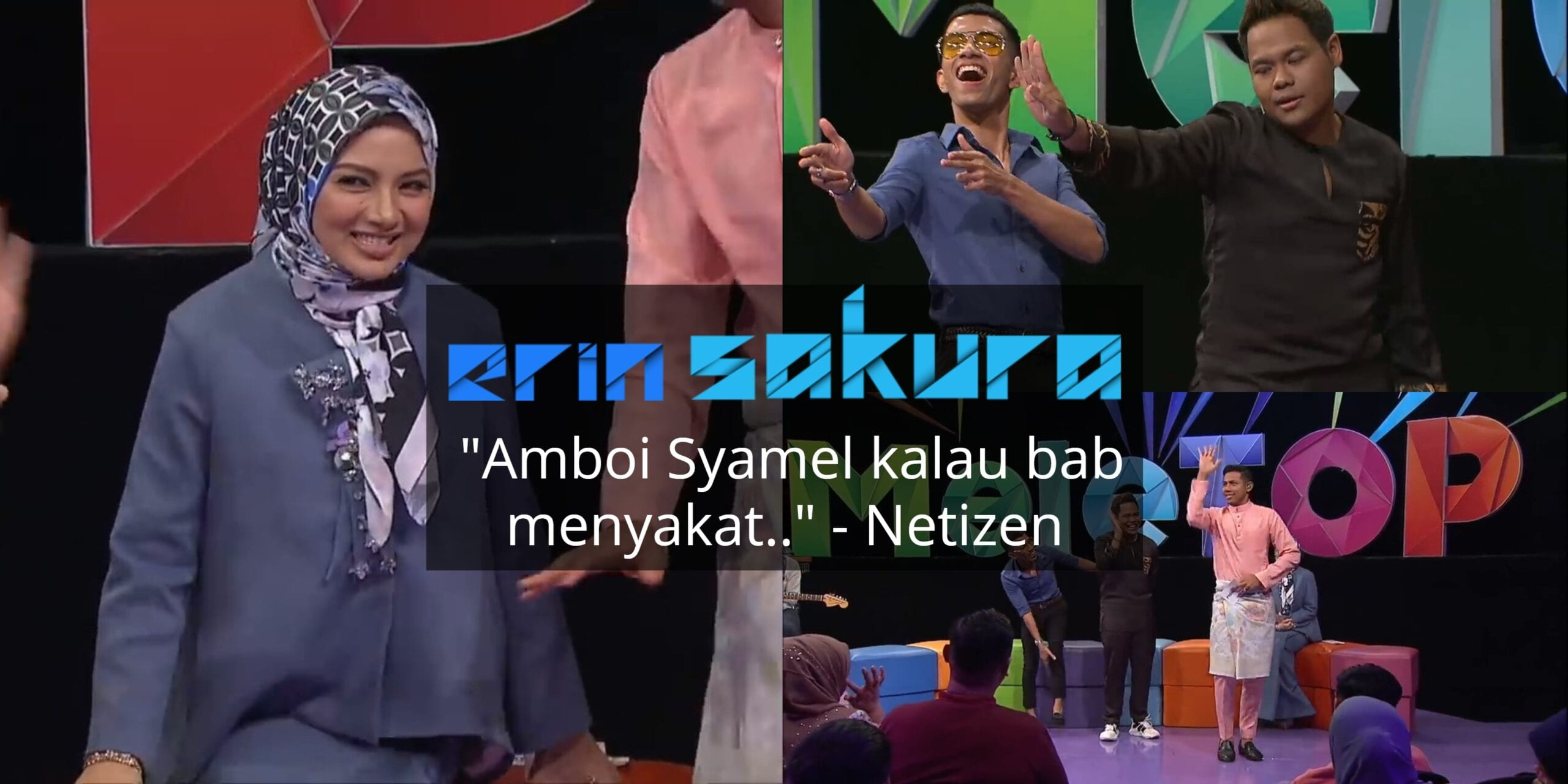 """[VIDEO] """"Jangan Sampai Aku Bukak!"""" – Neelofa Nyaris Belanja Tarian Di Live TV"""