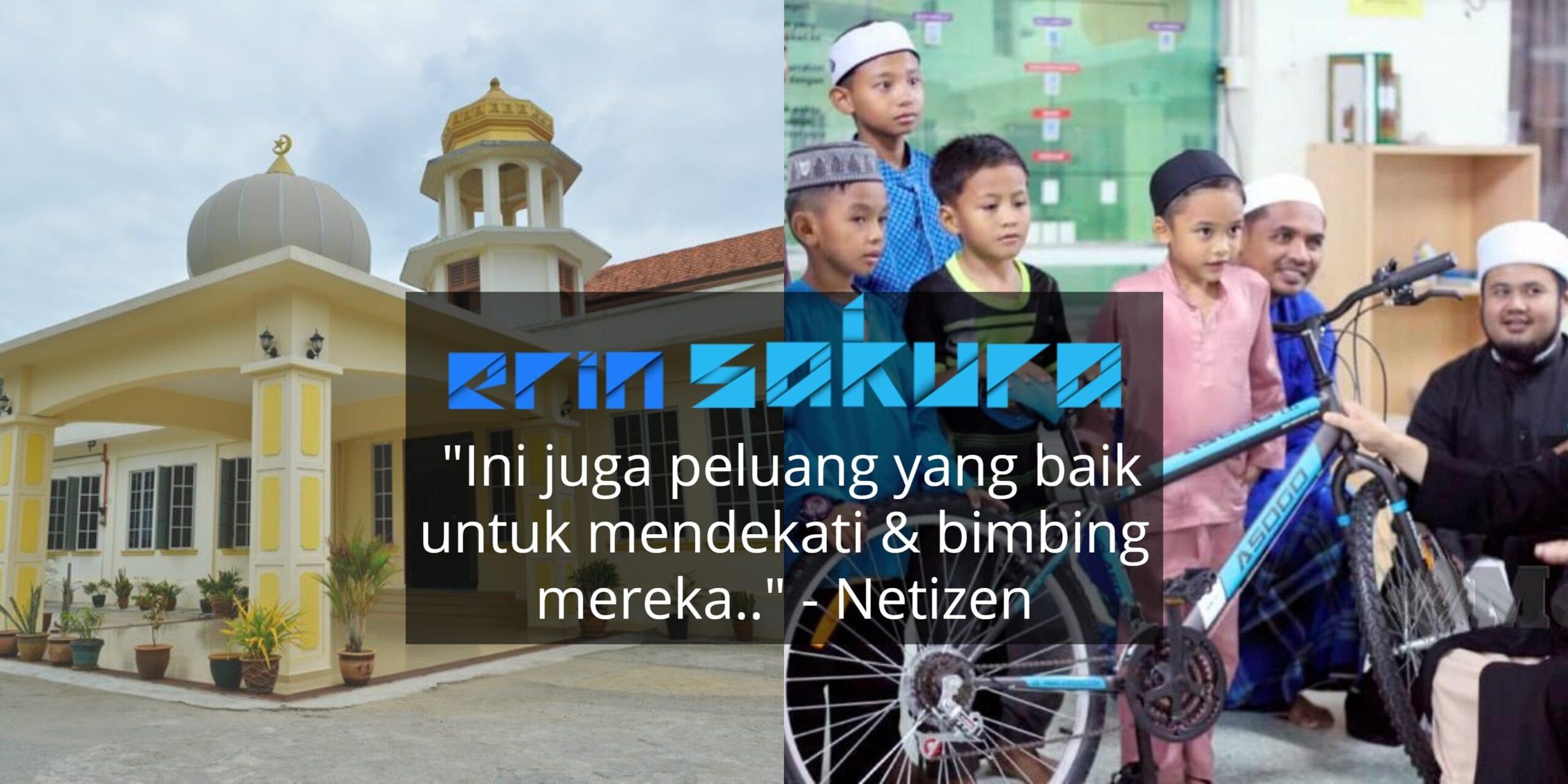 """""""Sebijik Basikal Kau!"""" – Masjid Tawar Habuan Istimewa Kepada Para Jemaah Cilik"""
