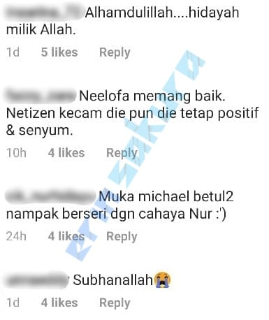 "[VIDEO] ""I Nampak Petunjuk Tu Kat You"" – Neelofa Puji Kisah Hijrah Michael Ang"