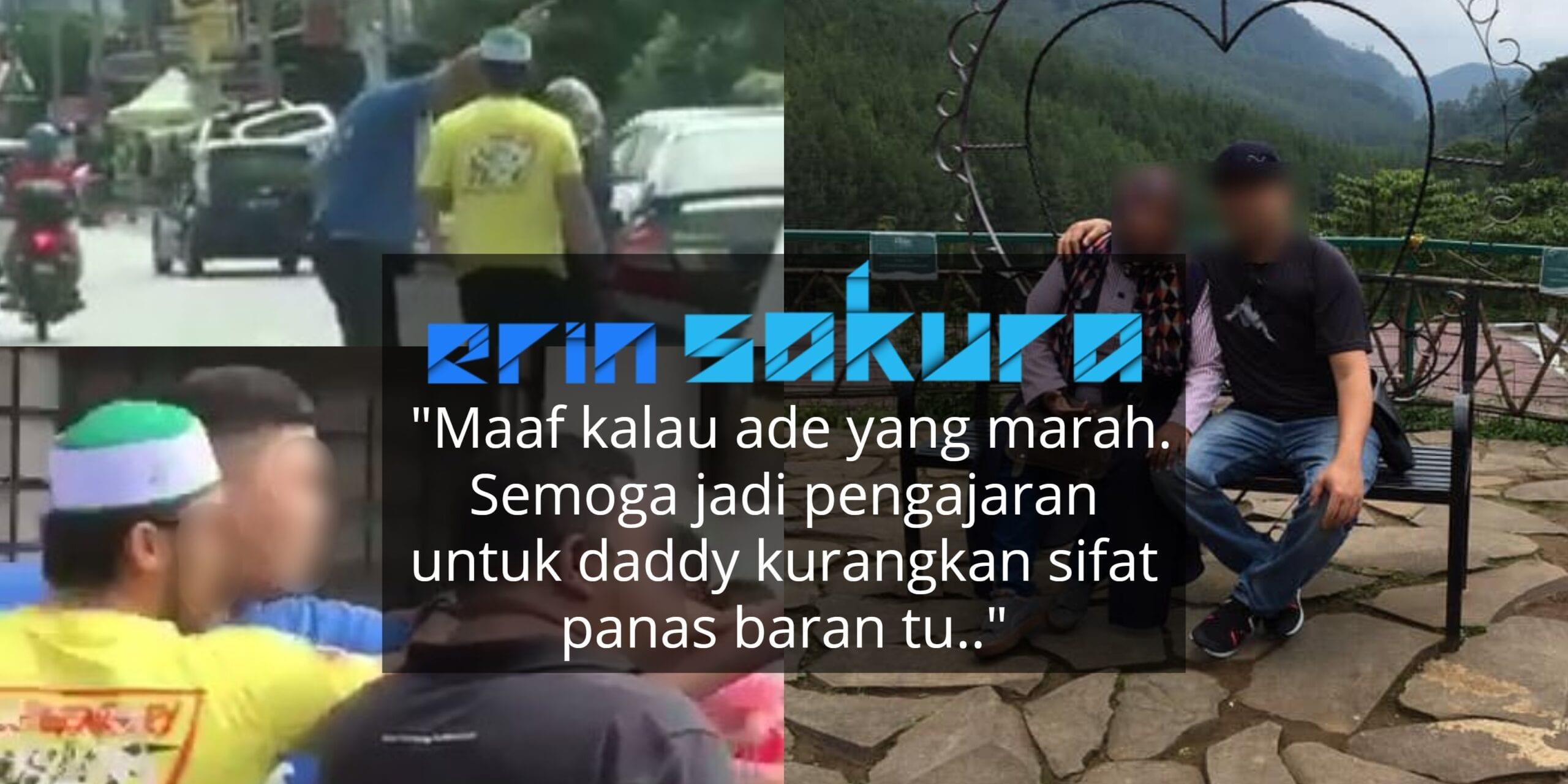Insiden Lempang Wanita Di Tengah Jalan, Isteri Suspek Buat Permohonan Maaf…