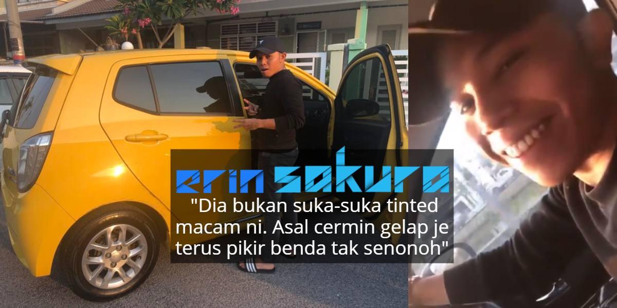Tunang Surprise Cermin Kereta Tinted Gelap, Gadis Kesal Ramai Fikir 'Kotor'