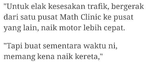 Tak Serik Jatuh Longkang, Guru Math Viral Makin Pulih & Teruja Mengajar Semula