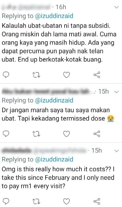 """""""Untung Bayar Murah Dah Dapat""""- Doktor Bongkar Harga Sebenar Ubat Tanpa Subsidi"""