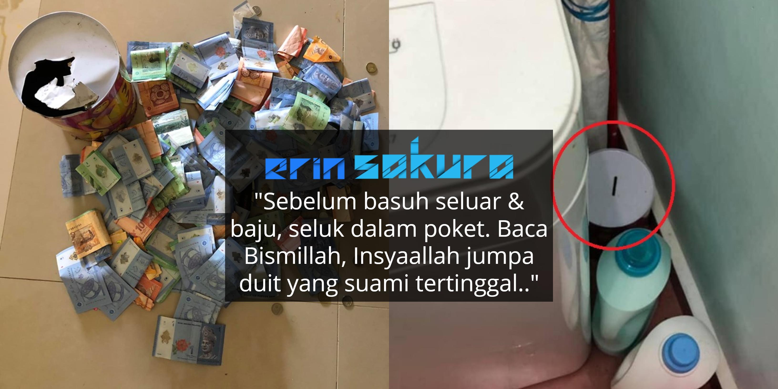 Guna Teknik Unik Menabung Tepi Mesin Basuh, Isteri Raih Hampir RM1,500 Setahun!