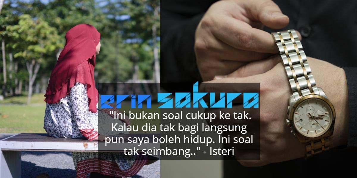Suami Gaji RM7K, Tapi Isteri Tak Puas Hati Dapat Nafkah Cuma RM300 Sebulan