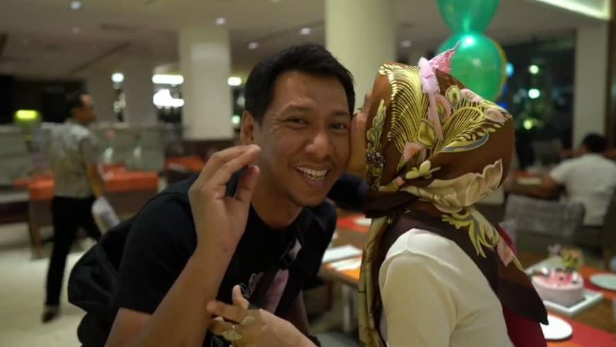 Zizan Buat Kejutan Hari Jadi Ibu, Tapi Kelibat Bella Astillah Jadi Tanda Tanya