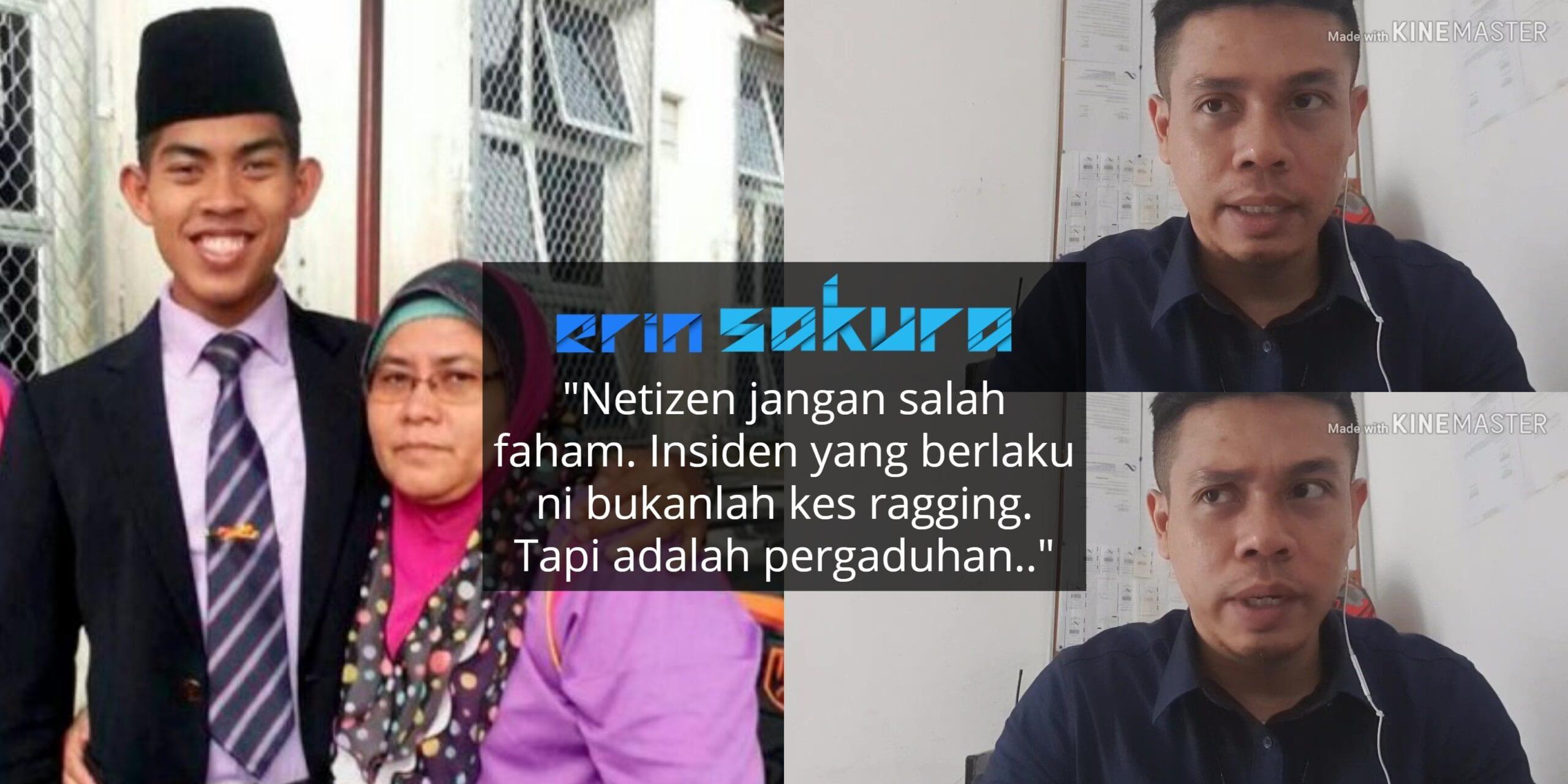Bekas Tentera Kongsi Pandangan Dari Sudut Berbeza Mengenai Insiden Zulfarhan..