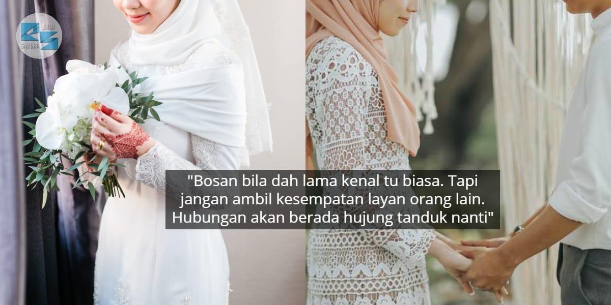 Jangan Ingat Fasa Bercinta Sweet Sentiasa, Hati Manusia Boleh Berubah..