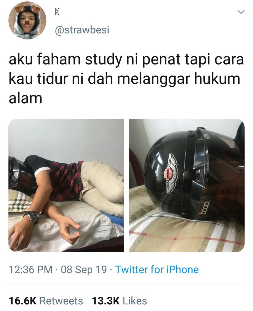 Dedah Sisi Lucu Selepas Study Foto Kantoi Pelajar