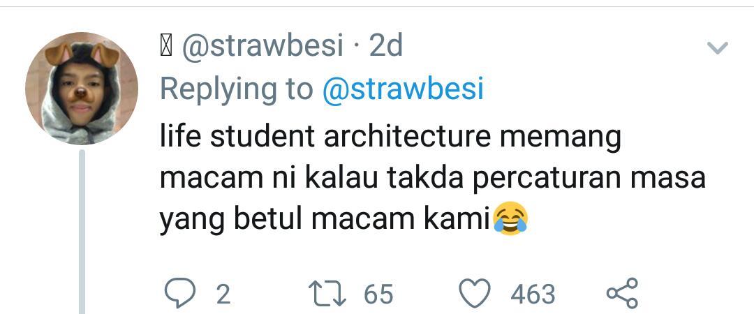 Dedah Sisi Lucu Selepas Study, Foto 'Kantoi' Pelajar Architecture Jadi Tumpuan