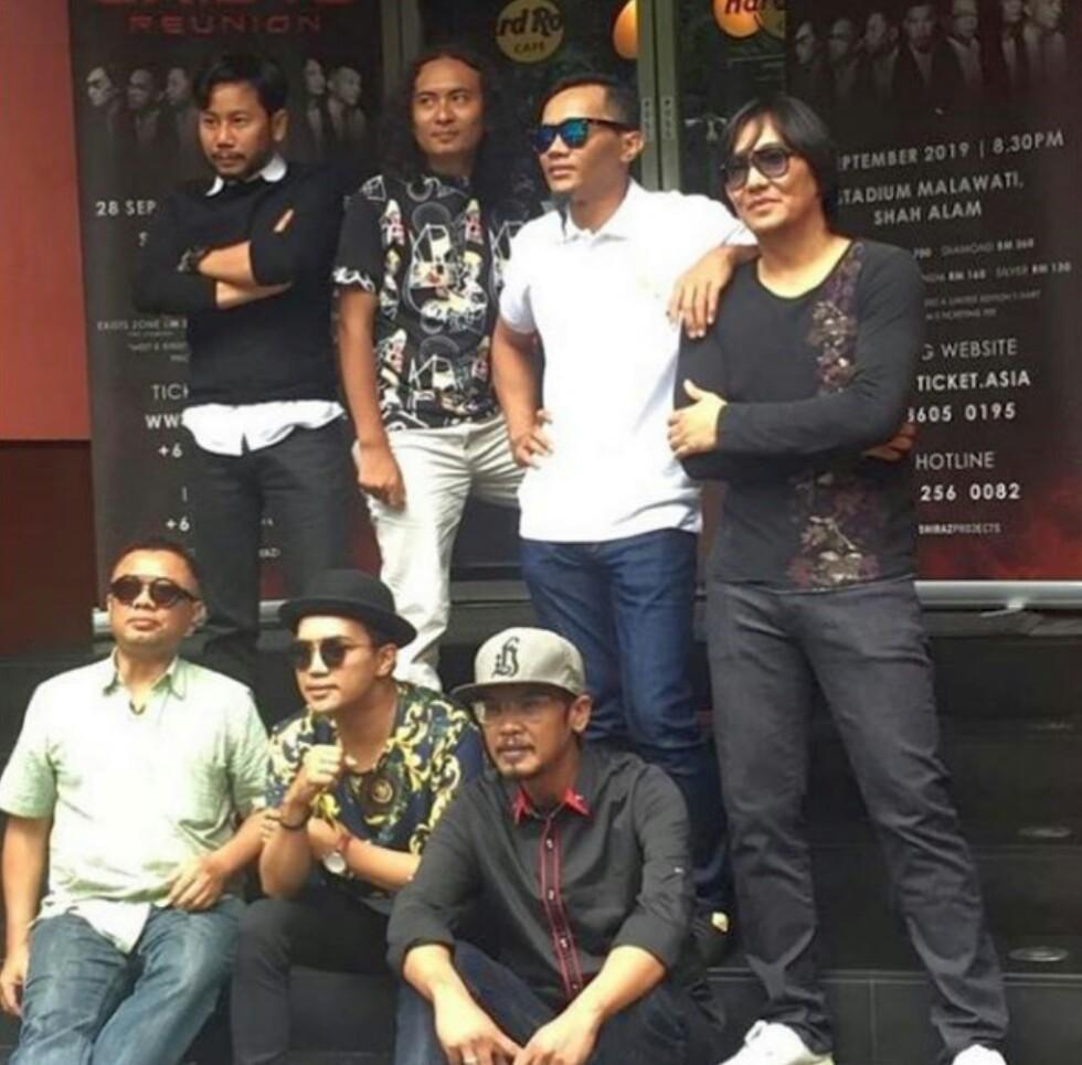 Positif Bahan Terlarang, Status Mamat Di Konsert Reunion Exist Jadi Persoalan!