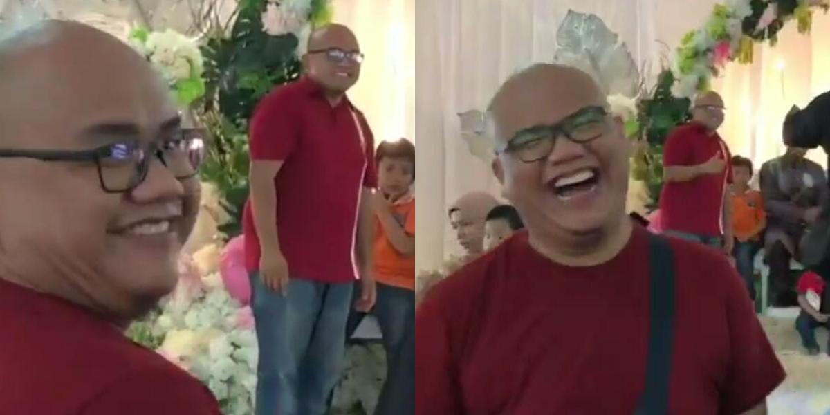 [VIDEO] Viral Lelaki Jumpa 'Kembar' Masa Kenduri, Reaksinya Cuit Hati Netizen