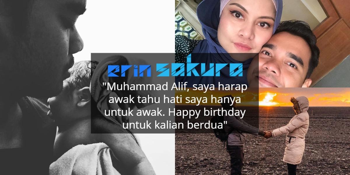 """Menangis Laung Azan"" – Alif Satar Timang Anak Lelaki Pertama Pada Hari Jadi"