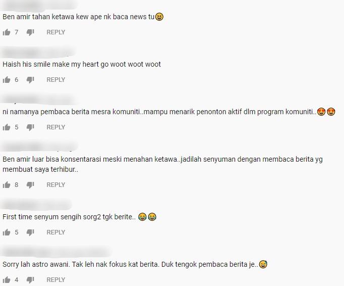 """[VIDEO] """"Muka Tahan Gelak"""" – Percubaan Ben Amir Baca Berita Raih Tumpuan Ramai"""