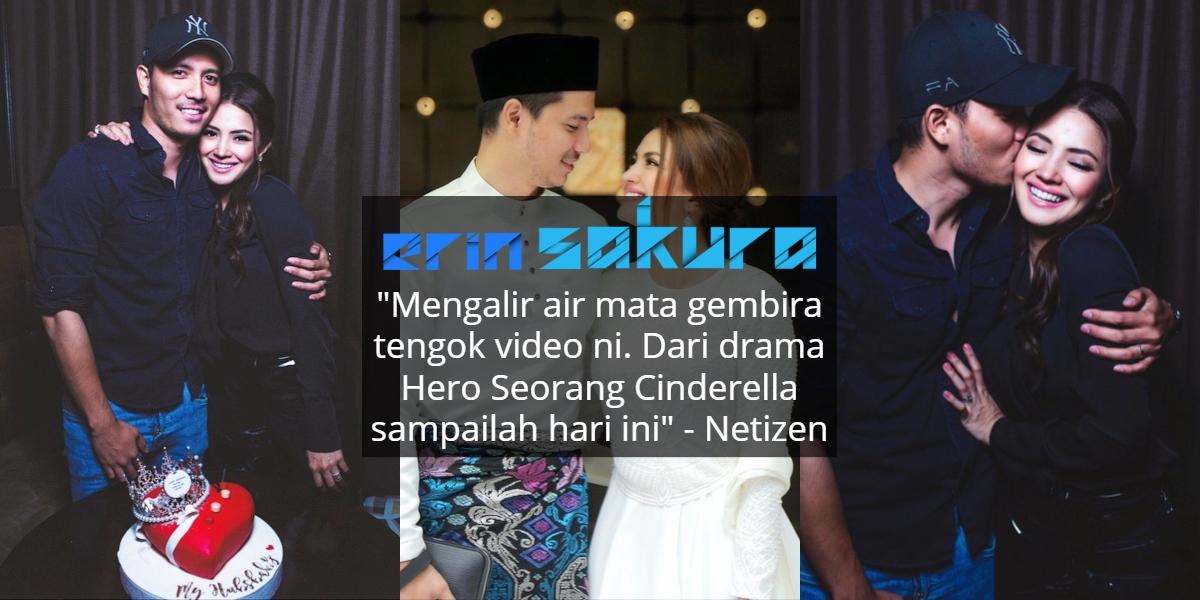 Titip Ucapan 'Sweet' Sempena Hari Jadi, Fattah & Fazura Buat Netizen Sebak!