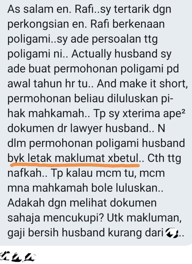 Nekad Menipu Demi Poligami, Isteri Terkejut Mahkamah Luluskan Permohonan Suami!