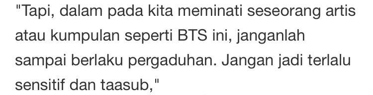 Dihentam Konon Salah Fakta Bilangan Anggota BTS, Alif Satar Beri Respon Padu!