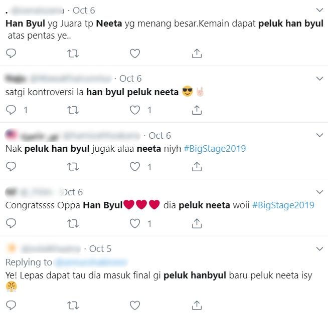 Ditegur Sebab Rangkul Han Byul Saat Umum Juara Big Stage 2019, Ini Respon Neeta