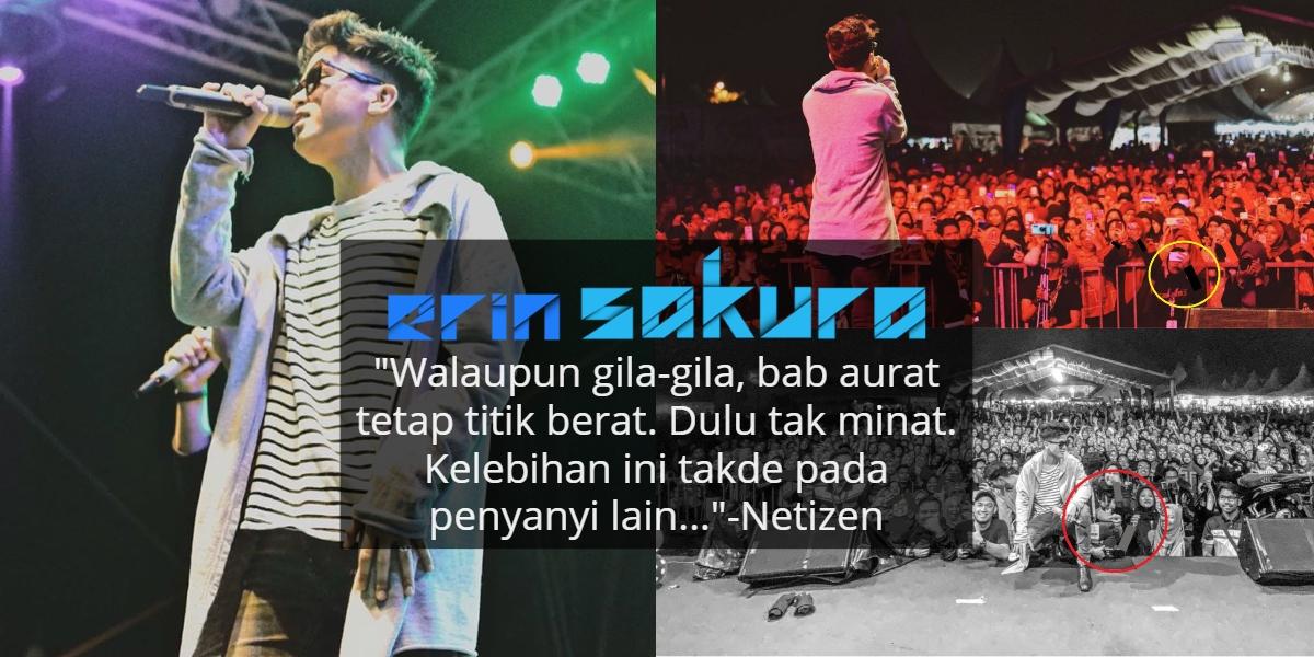 Upload Gambar Konsert, Haqiem Rusli Dipuji Sebab Gigih 'Sorok' Aurat Peminatnya