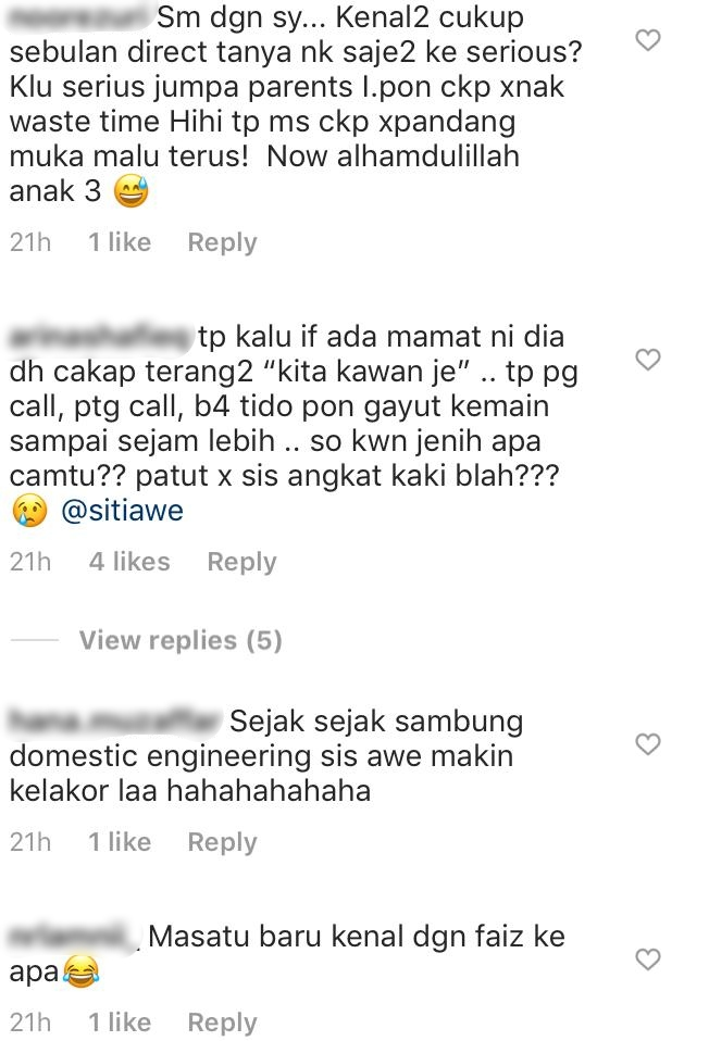 Siti Hawa Ajak Laki Kahwin Macam Gengster, Rupanya Ramai Lagi Kongsi Benda Sama