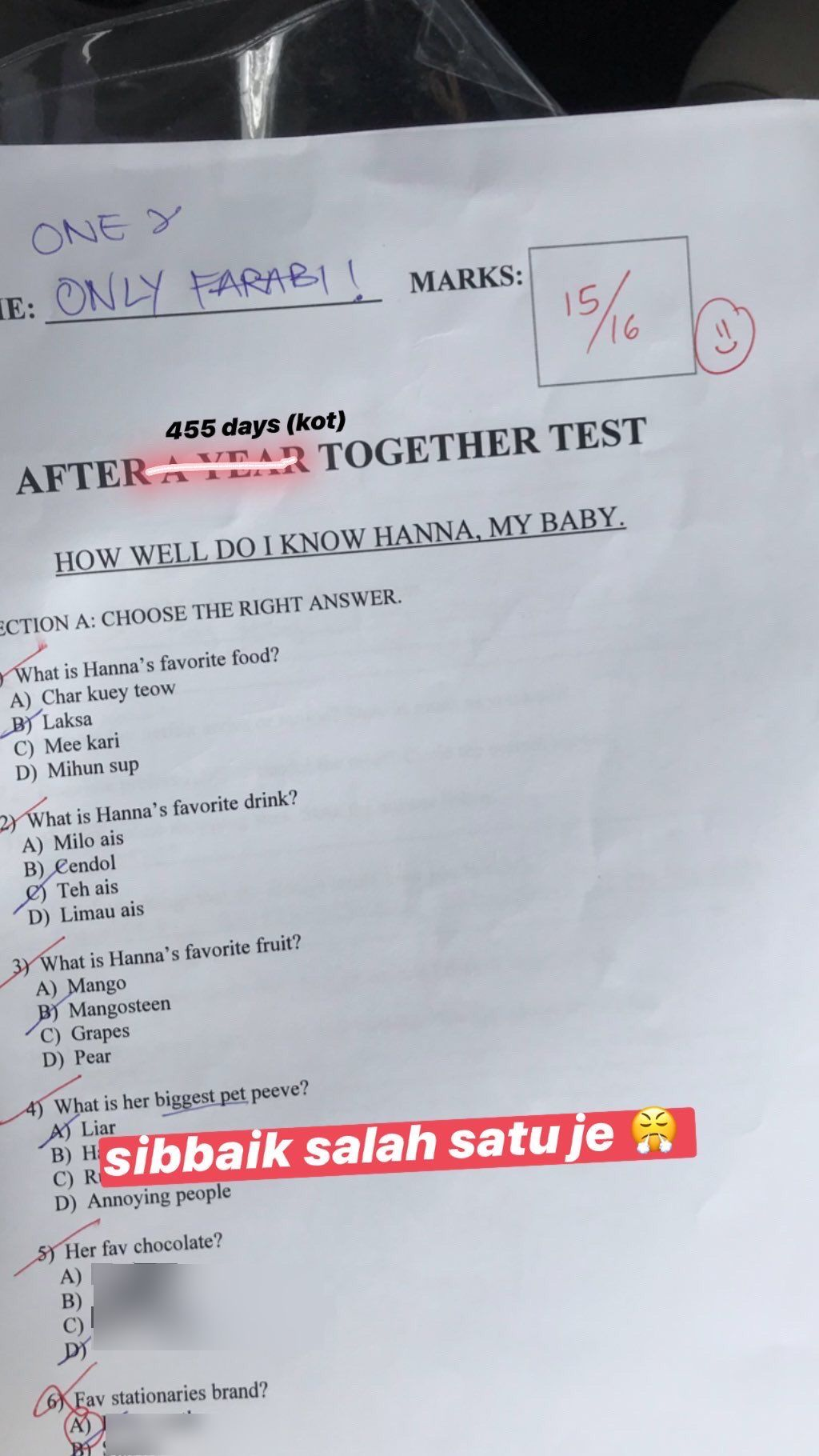 Sudah 445 Hari Bercinta, Pemuda Ini Hadapi 'Exam' Paling Win Dari Buah Hatinya