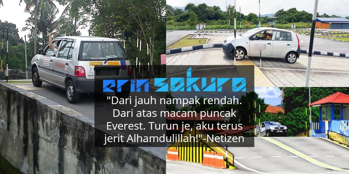 Bukit Terseram Di Malaysia, 1001 Pengalaman Lucu Sewaktu Ambil Lesen Kereta