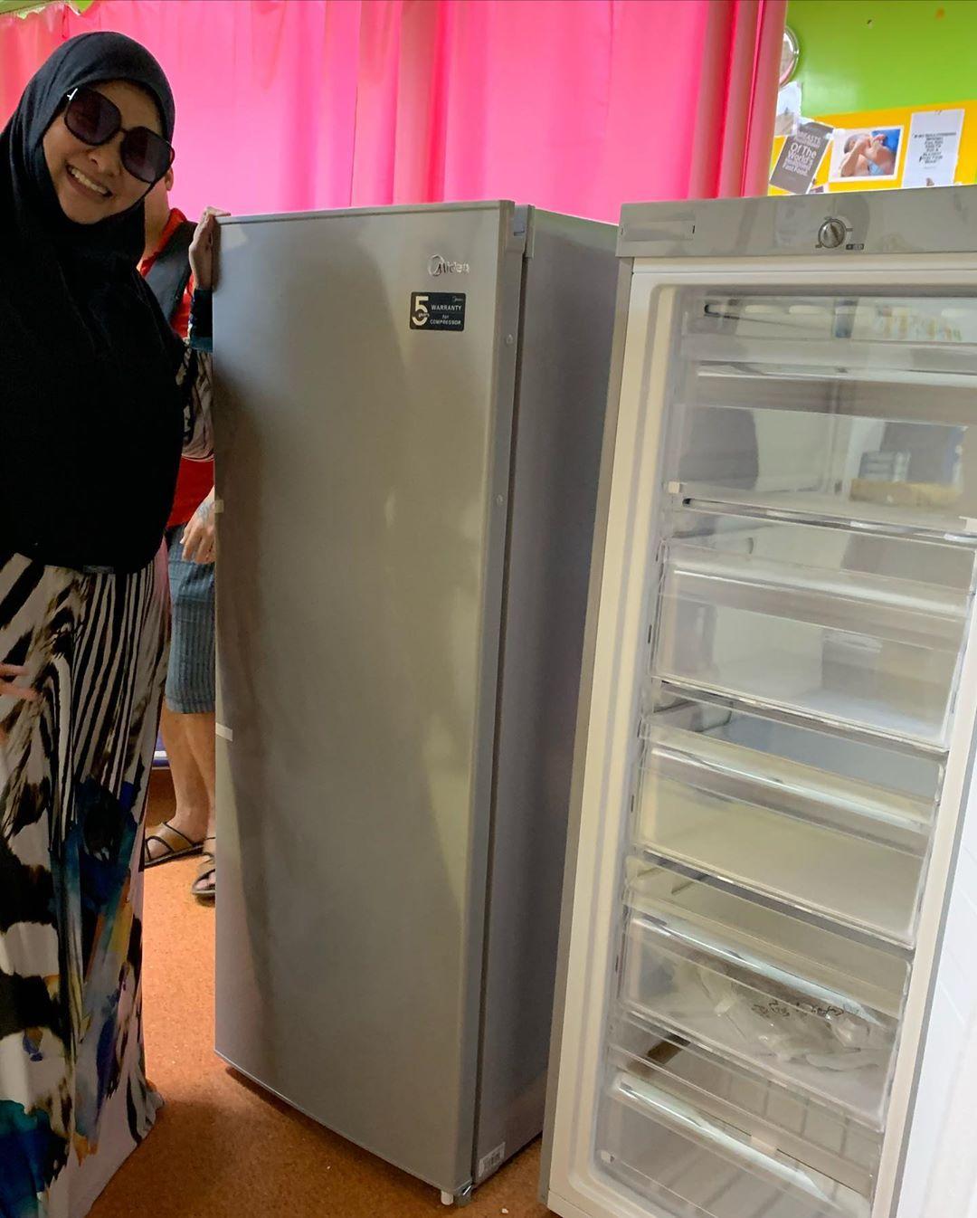 "Abby Wakaf 2 Freezer Untuk NICU – ""Jangan Teragak & Yakin Dengan Janji Allah"""