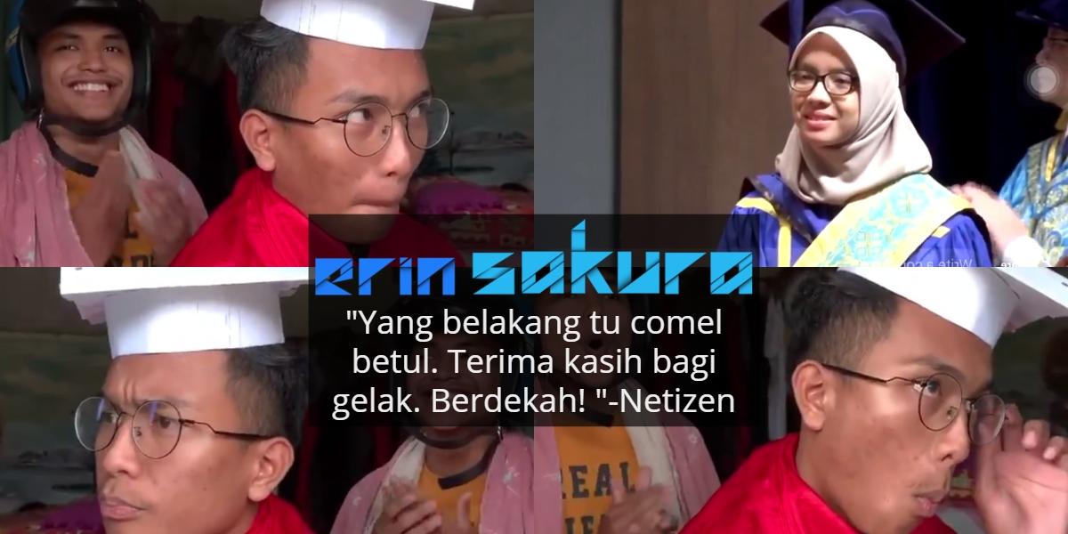 [VIDEO] Viral Graduan 4 Flat 7 Semester, Pemuda Buat Parodi Lawak Versi Riak