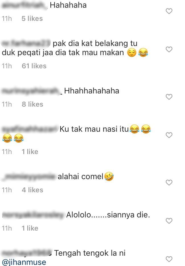 [VIDEO] Tak Nak Makan Nasi Sampai Ada 'Drama', Anak Jihan Buat Ramai Berdekah!