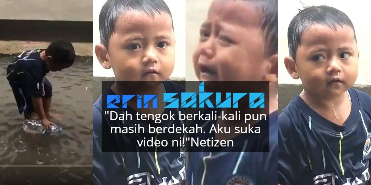 "[VIDEO] ""Ayo Ayo""-Girang Main Hujan Tiba-Tiba Nangis, Ingat Sebab Apa Rupanya.."