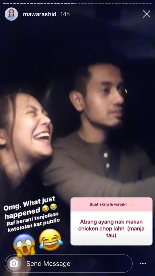 [VIDEO] Main Game Berlakon Dengan Followers, Aksi Mawar Rashid & Suami Lawak
