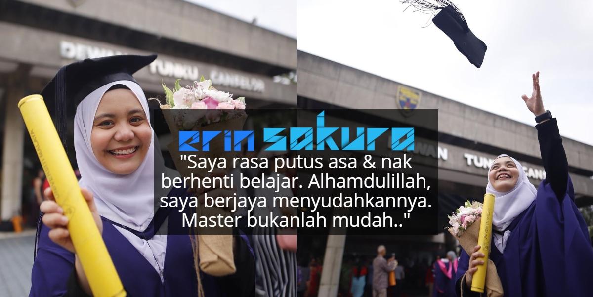 Raih Master TESL, Najwa Latif Akui Pernah Nangis Tiap Hari Nak Siapkan Tesis!
