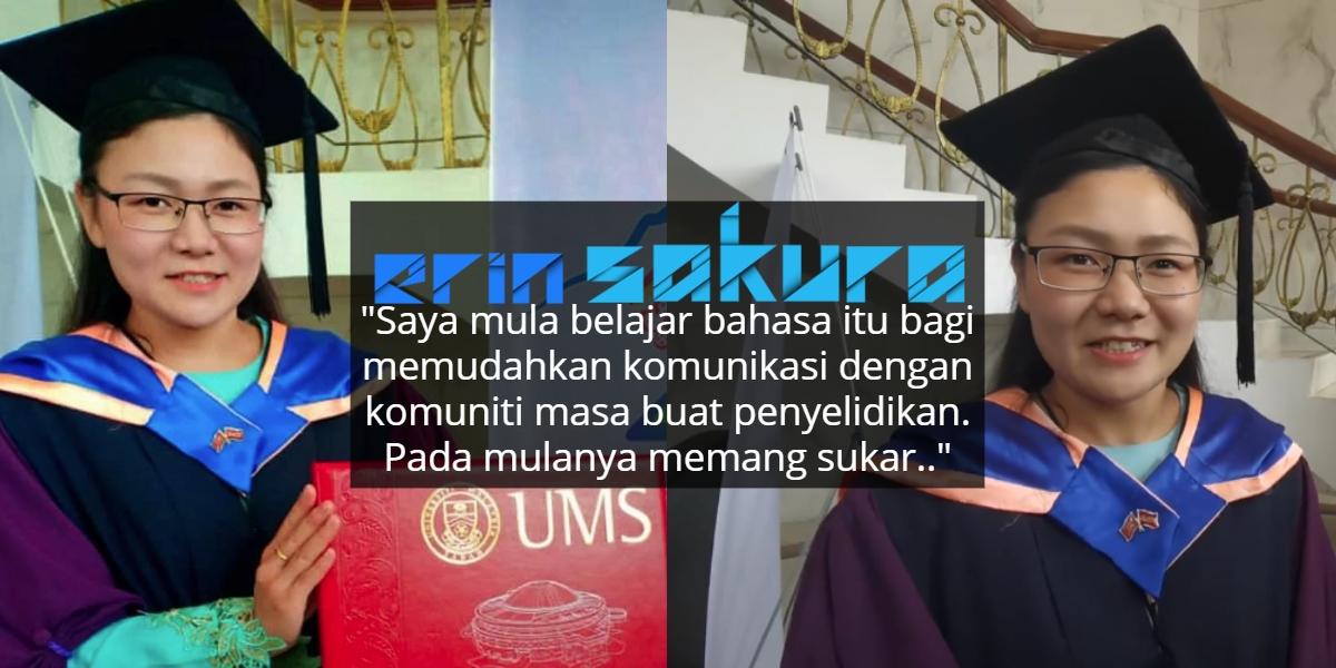 Budaya Malaysia Unik, Graduan UMS Warga Jepun Ini Fasih Bahasa Melayu & Dusun