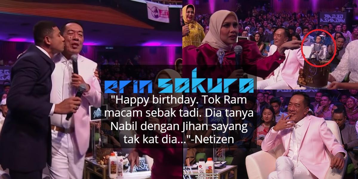 [VIDEO] Syok Nyanyi Untuk Birthday Tok Ram, Satu Dewan Berdekah Bila Kek Sampai