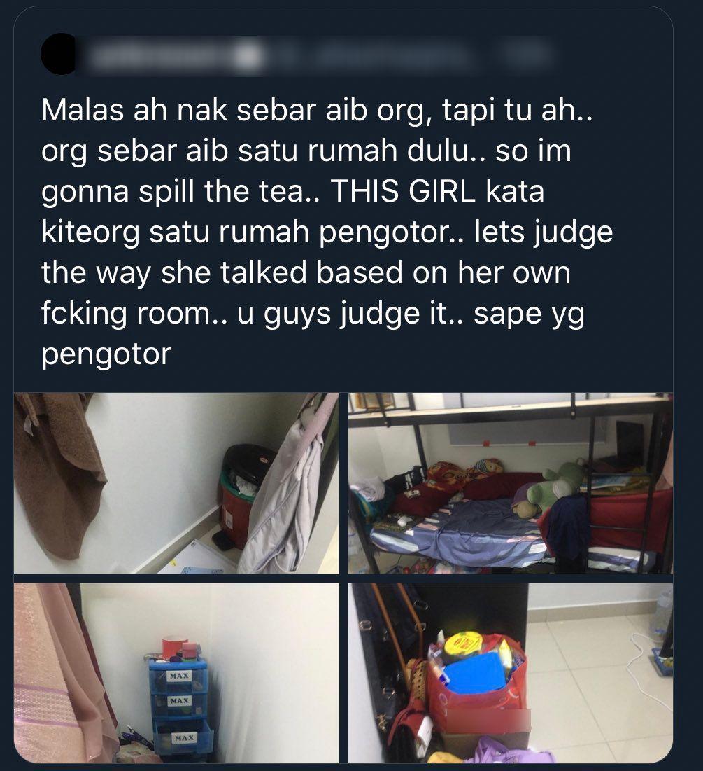 [FOTO] 'Kantoikan' Pasal Housemate Pengotor, Tiba-Tiba Ada Yang Buka Aib Lain