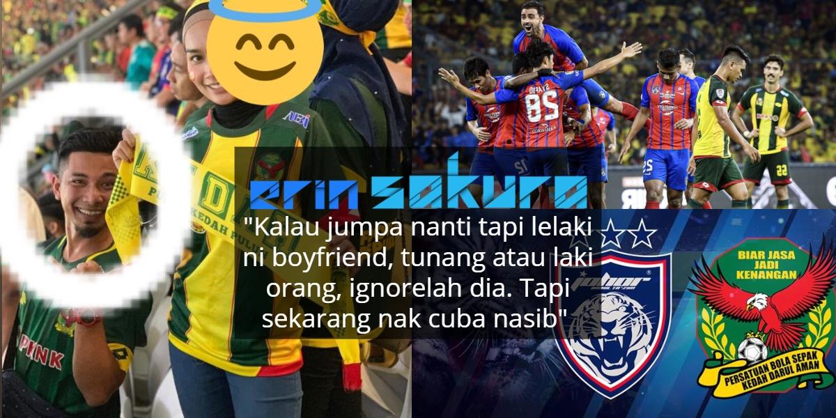 Cinta Pandang Pertama Di Stadium Bola, Gadis Gunakan Kuasa Viral Menjejak Jodoh