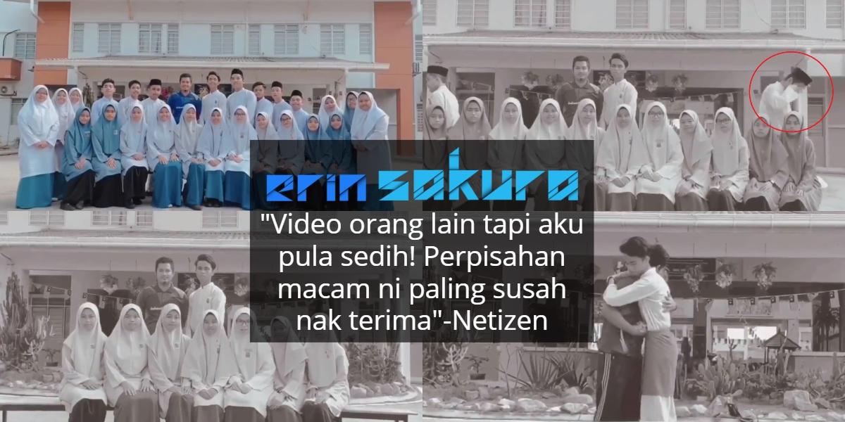 """""""Kini Waktu Pisahkan Kita""""-Kongsi Video Habis Sekolah, Ramai Sebak Babak Akhir"""