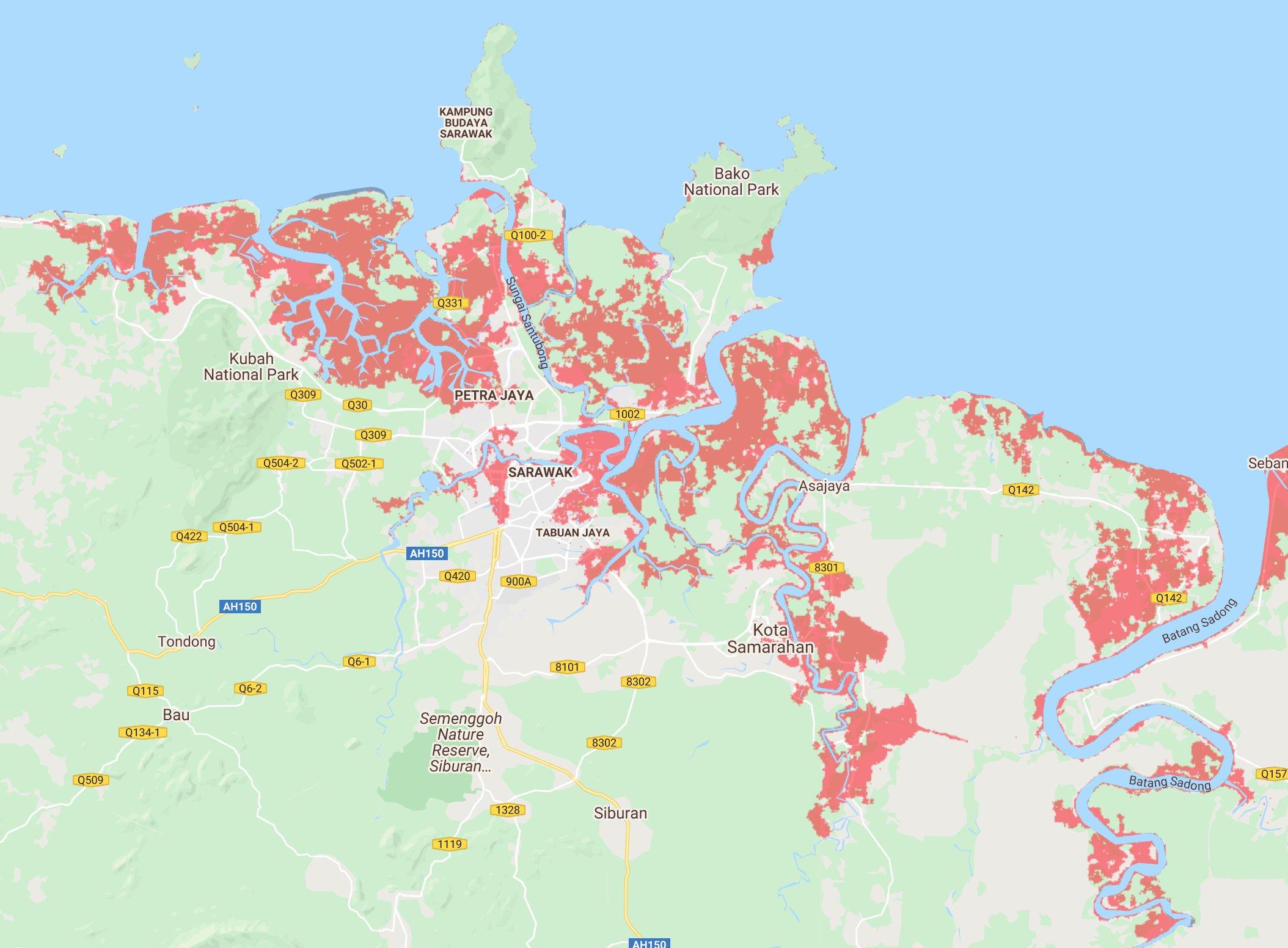 9 Negeri Di Malaysia Dijangka Tenggelam 2050 Nanti, Jutaan Nyawa Akan Terkesan