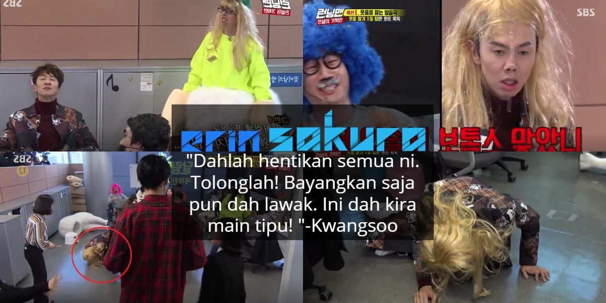 Running Man Buat Game Tahan Gelak Lagi, Tapi Kwangsoo Paling 'Terciduk' Teruk
