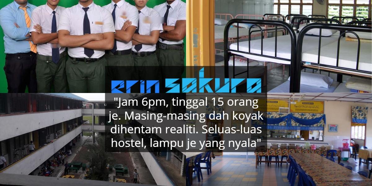 Konon Jadi Orang Last 'Blah' Dari Hostel, Akhirnya Sebak Lihat Rakan Menghilang